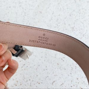 Gucci Accessories - NWT Authentic Gucci GG Buckle Leather Belt